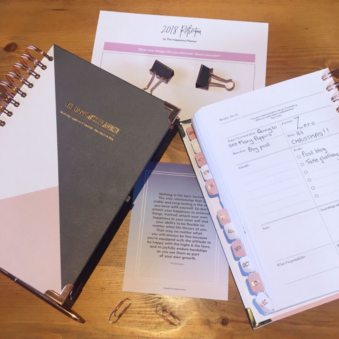 The Happiness Planner Review