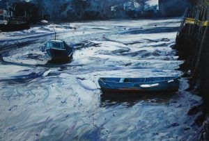 Painting of Salcombe